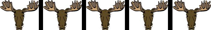 5 moose